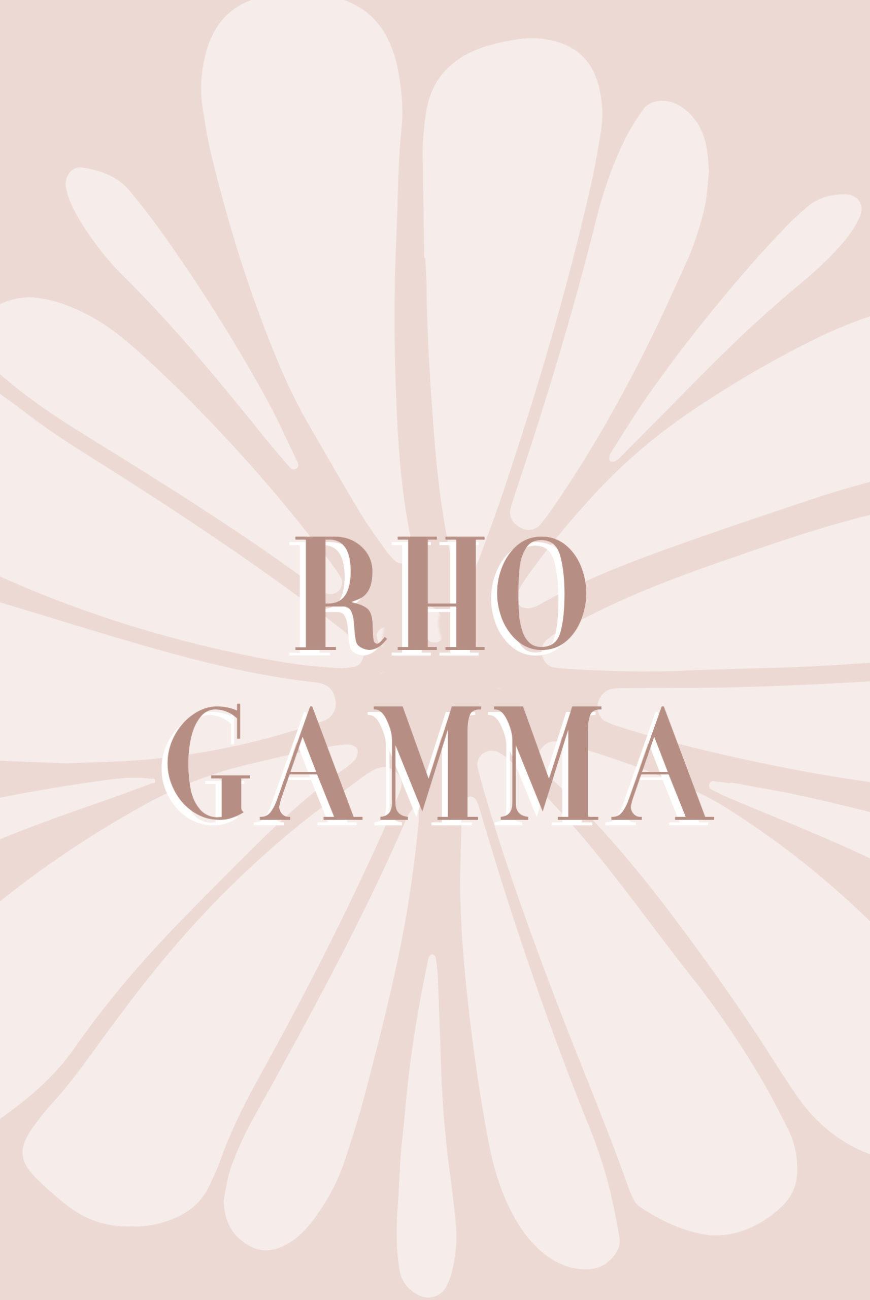 Rho Gamma